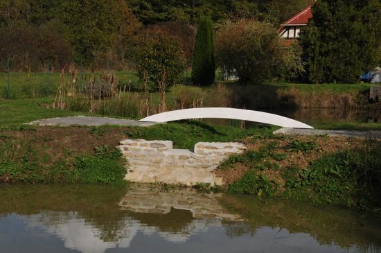 Premier support du pont